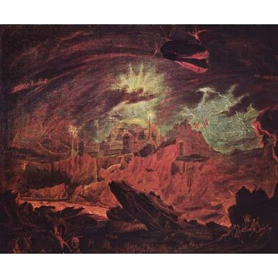 Fallen Angels In Hell (John Martin)