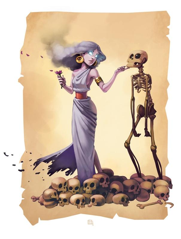 Persephone Bib0un (Deviantart)