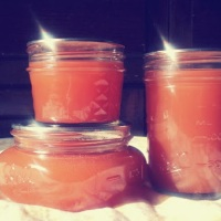 Blood Orange Honey Jelly