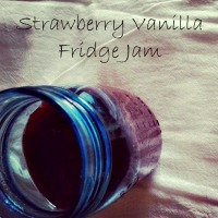 Strawberry Vanilla Fridge Jam