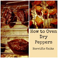 How to Oven Dry Your Own Peppers