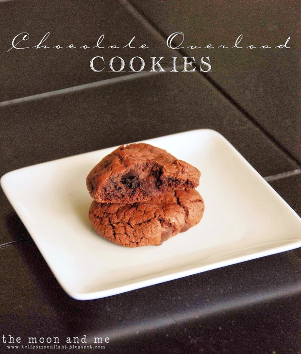 chocolate overload cookies 4
