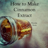 How to Make Cinnamon Extract