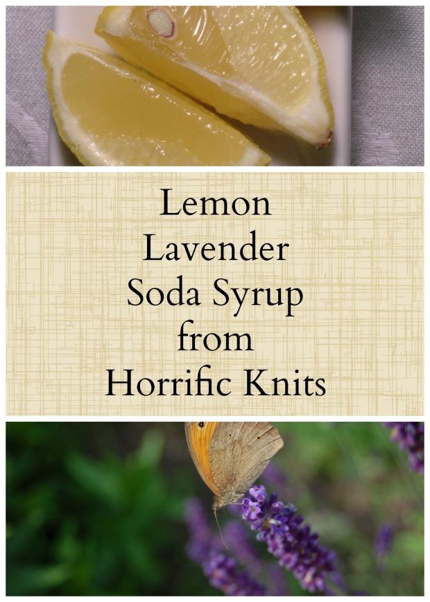 Lemon Lavender Soda Syrup
