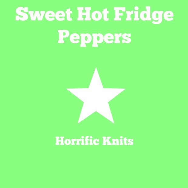 Sweet Hot Fridge Peppers