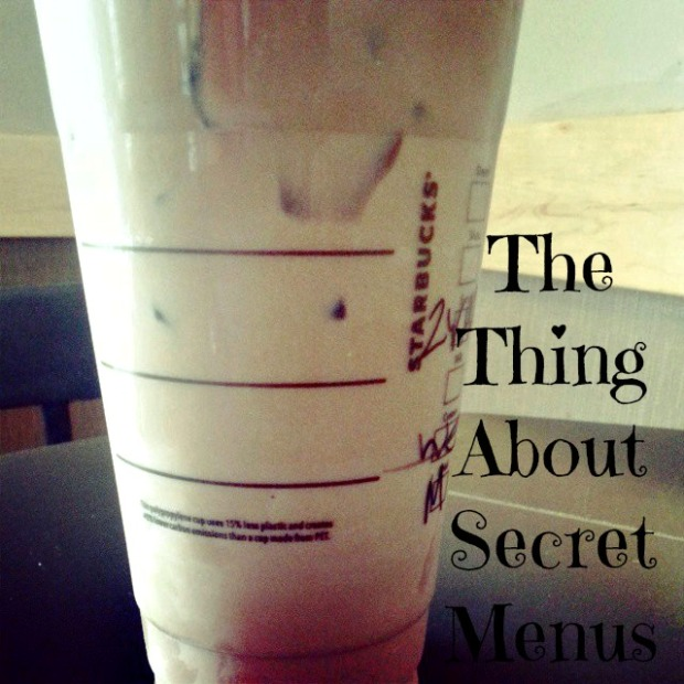 the truth about coffee secret menus