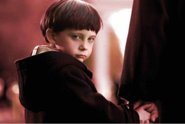 Creepy: Damien in the remake of The Omen (Picture: Sarah Wilby Creative Publicity)