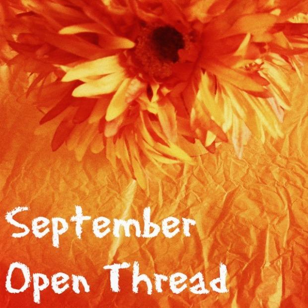 september open thread