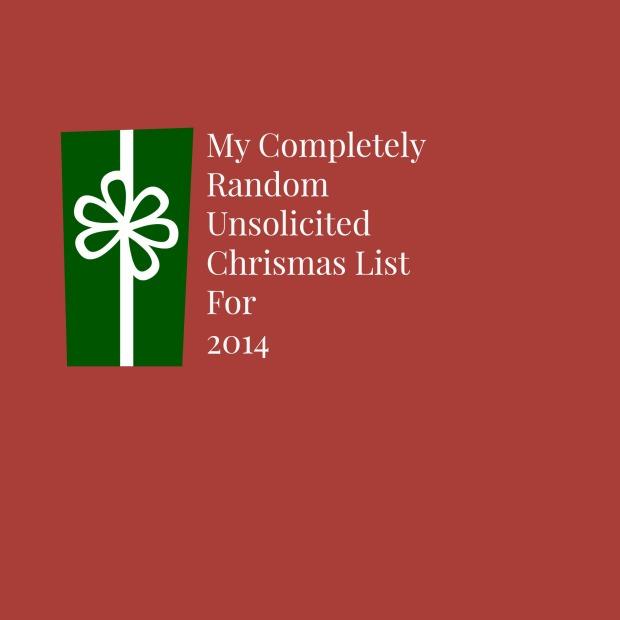 christmas list 2014