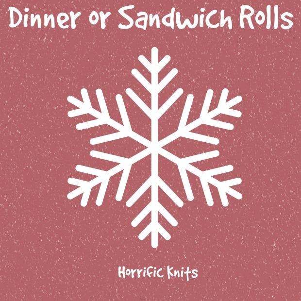 dinner or sandwich rolls