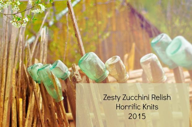 zesty zucchini relish